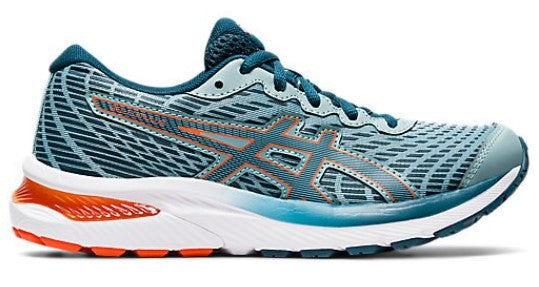 ASICS GEL CUMULUS 22 GS - LIGHT STEEL/MAGNETIC BLUE (KIDS)