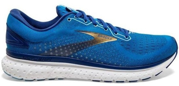 BROOKS GLYCERIN 18 (MENS) - BLUE/MAZARINE/GOLD