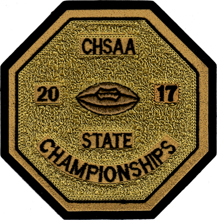 2017 CHSAA State Championship Football Patch