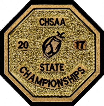 2017 CHSAA State Championship Golf Patch