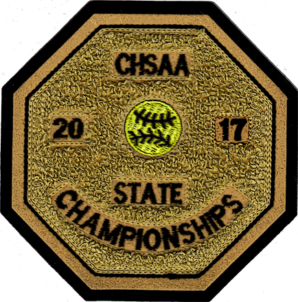 2017 CHSAA State Championship Softball Patch