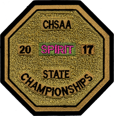 2017 CHSAA State Championship Spiritline Patch