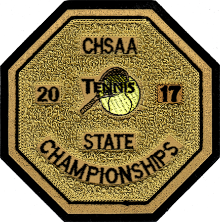 2017 CHSAA State Championship Tennis Patch