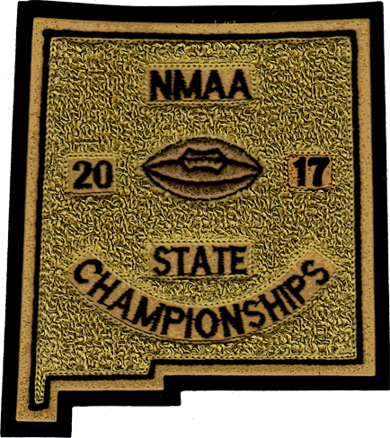 2017 NMAA State Championship Football Patch