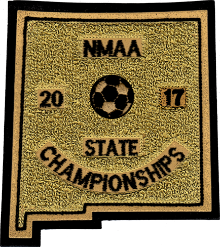 2017 NMAA State Championship Soccer Patch