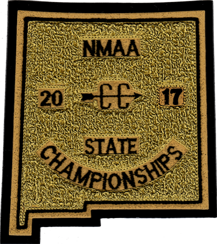 2017 NMAA State Championship Cross Country Patch