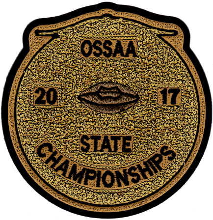 2017 OSSAA State Championship Football Patch