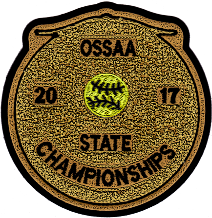 2017 OSSAA State Championship Softball Patch