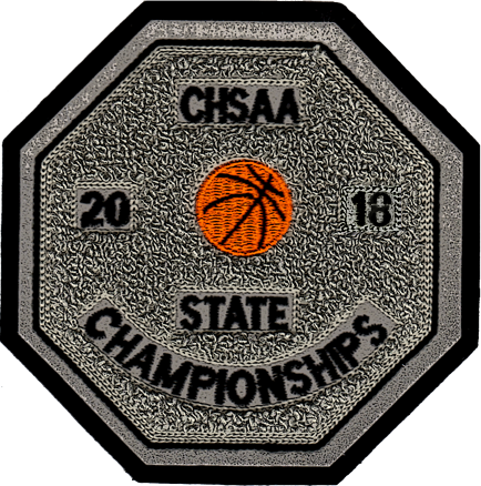 2018 CHSAA State Championship Basketball Patch