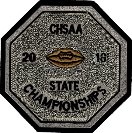 2018 CHSAA State Championship Football Patch