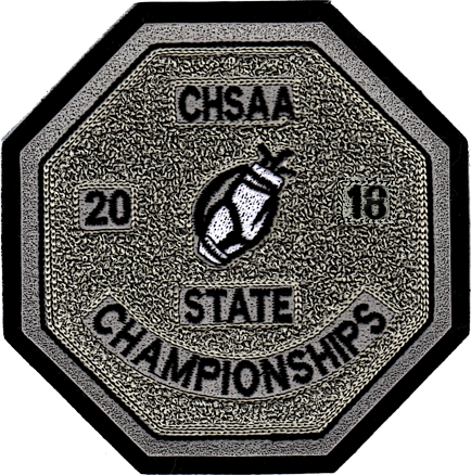 2018 CHSAA State Championship Golf Patch