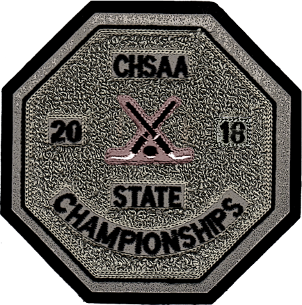 2018 CHSAA State Championship Ice Hockey Patch