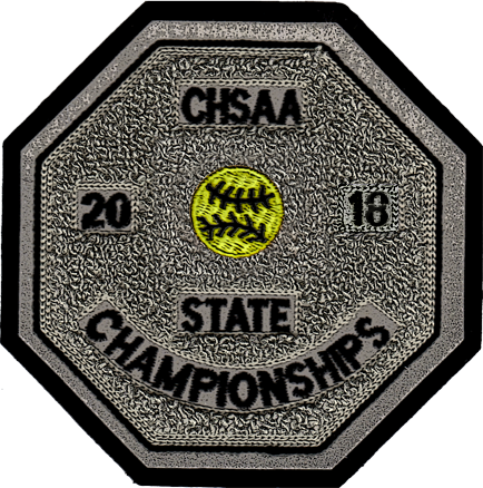 2018 CHSAA State Championship Softball Patch