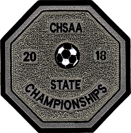 2018 CHSAA State Championship Soccer Patch