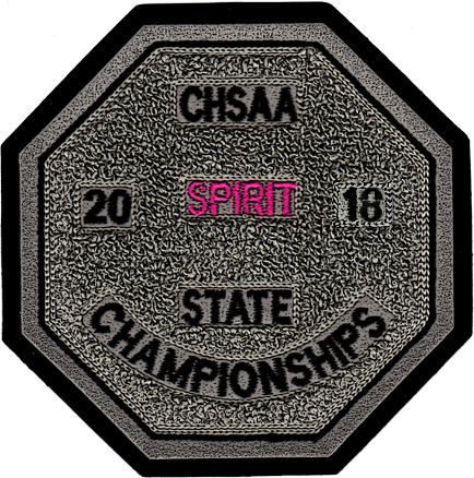2018 CHSAA State Championship Spiritline Patch
