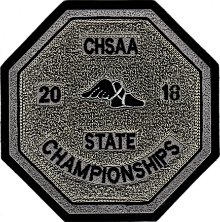 2018 CHSAA State Championship Track & Field Patch