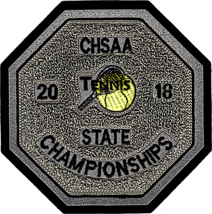 2018 CHSAA State Championship Tennis Patch