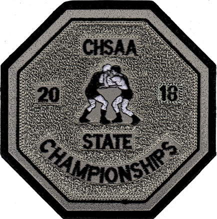 2018 CHSAA State Championship Wrestling Patch