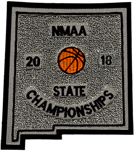 2018 NMAA State Championship Basketball Patch