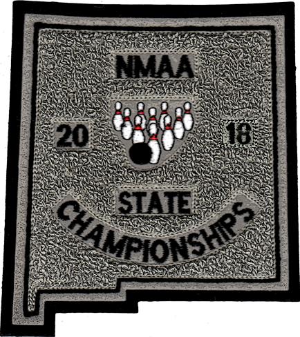2018 NMAA State Championship Bowling Patch