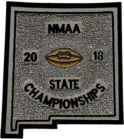2018 NMAA State Championship Football Patch