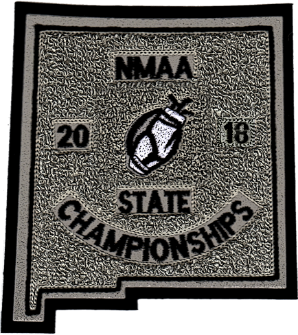 2018 NMAA State Championship Golf Patch