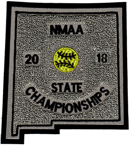 2018 NMAA State Championship Softball Patch