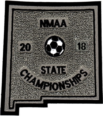 2018 NMAA State Championship Soccer Patch