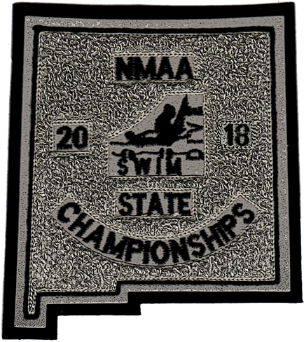 2018 NMAA State Championship Swim & Dive Patch