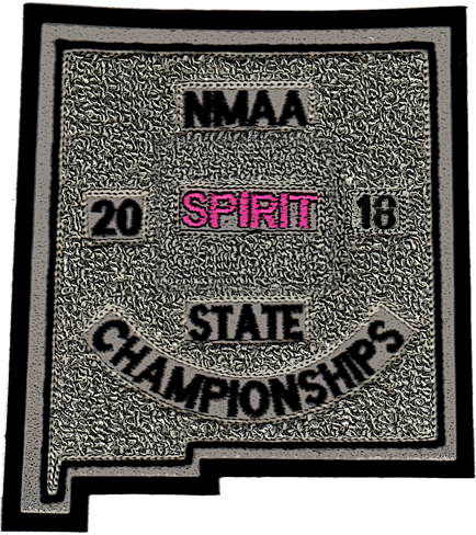 2018 NMAA State Championship Spirit Patch