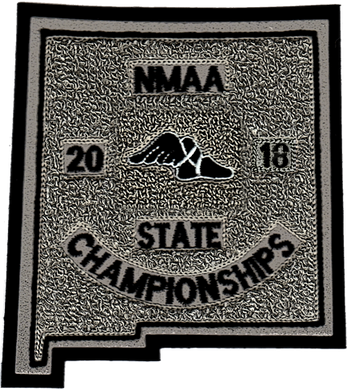 2018 NMAA State Championship Track & Field Patch