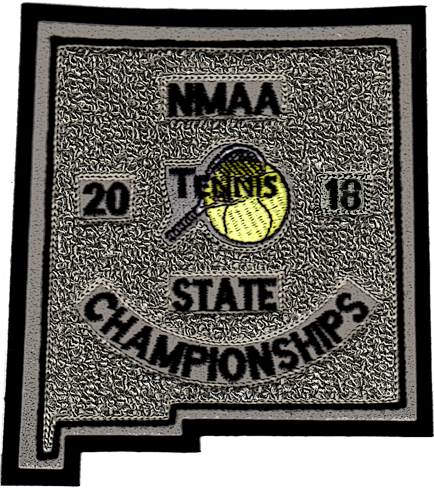 2018 NMAA State Championship Tennis Patch