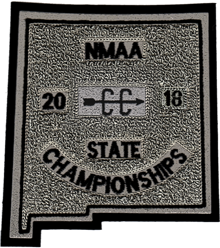 2018 NMAA State Championship Cross Country Patch