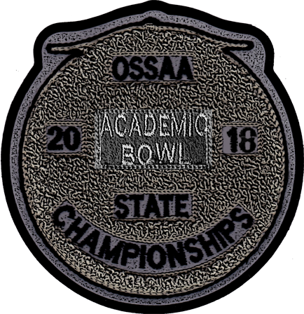 2018 OSSAA State Academic Bowl Patch