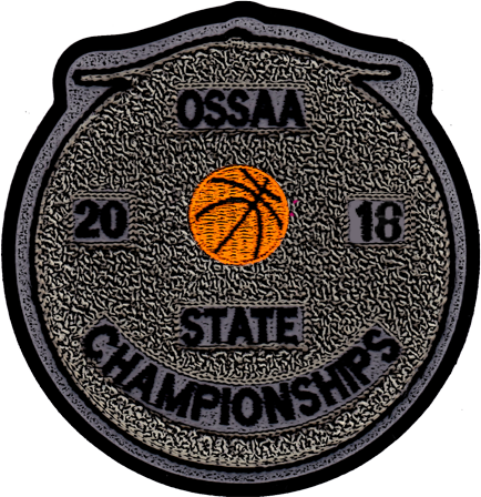 2018 OSSAA State Championship Basketball Patch