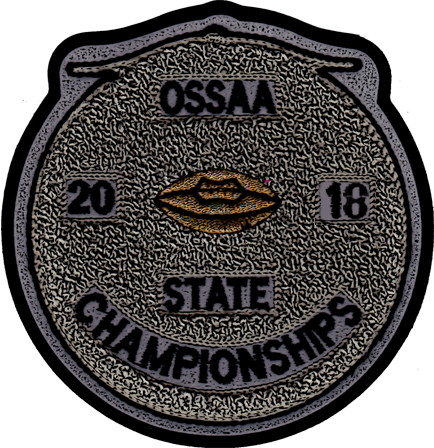 2018 OSSAA State Championship Football Patch