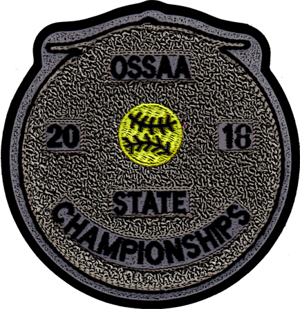 2018 OSSAA State Championship Softball Patch