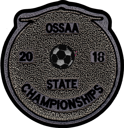 2018 OSSAA State Championship Soccer Patch
