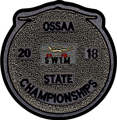 2018 OSSAA State Championship Swimming Patch