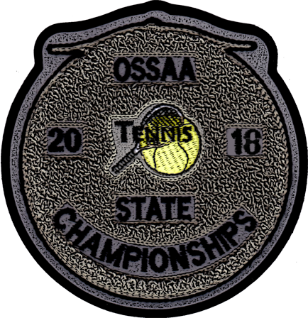 2018 OSSAA State Championship Tennis Patch