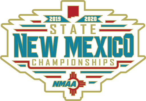 2019-20 NMAA State Championships Lapel Pin