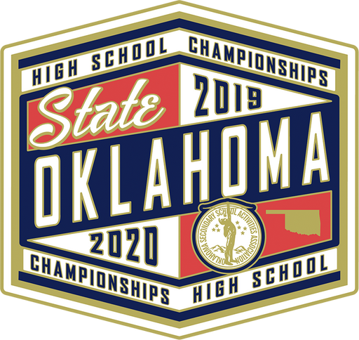 2019-20 OSSAA State Championships Lapel Pin