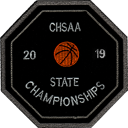 2019 CHSAA State Championship Basketball Patch