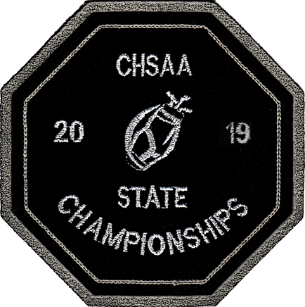 2019 CHSAA State Championship Golf Patch