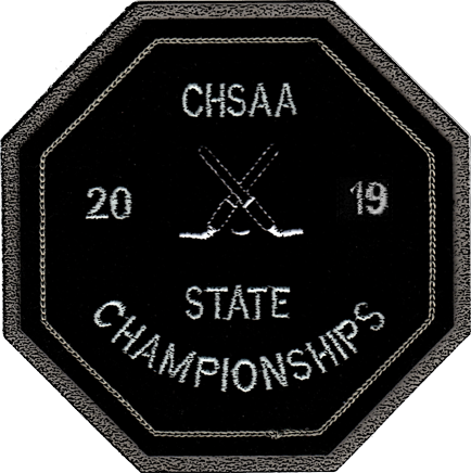 2019 CHSAA State Championship Ice Hockey Patch