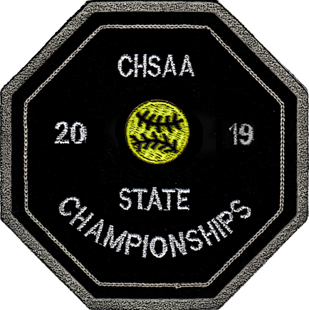 2019 CHSAA State Championship Softball Patch