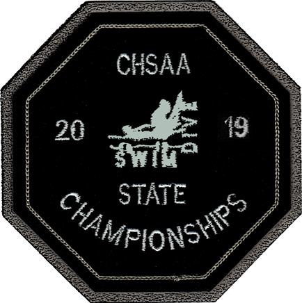 2019 CHSAA State Championship Swim & Dive Patch