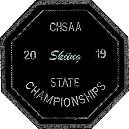 2019 CHSAA State Championship Skiing Patch