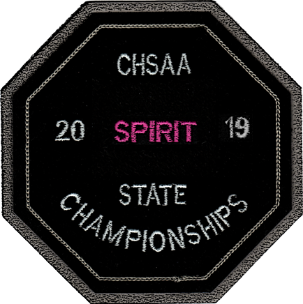 2019 CHSAA State Championship Spiritline Patch