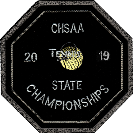 2019 CHSAA State Championship Tennis Patch